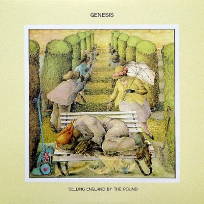 Genesis「Selling England By The Pound(邦題:月影の騎士)」