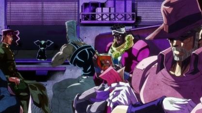 アニメ「ジョジョの奇妙な冒険 スターダストクルセイダース」の3部エジプト編のED曲「Last Train Home」